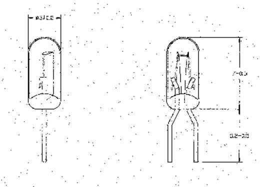 Spezialglühlampe Klar T1 19 V 70 mA 21619700
