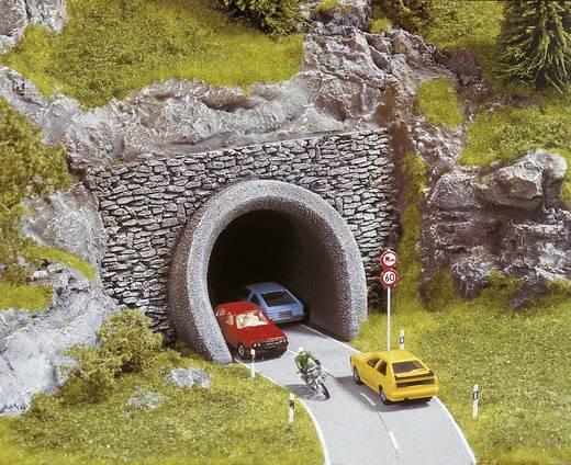 H0 Straßen-Portal 2gleisig Hartschaum-Fertigmodell, Bemalt NOCH 58290