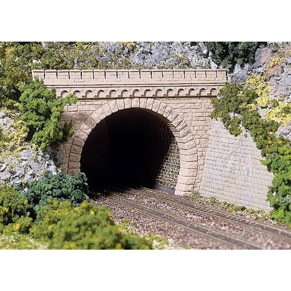 h0 tunnel portal 2gleisig kunststoffmodell auhagen 41 587 im conrad online shop 211183. Black Bedroom Furniture Sets. Home Design Ideas