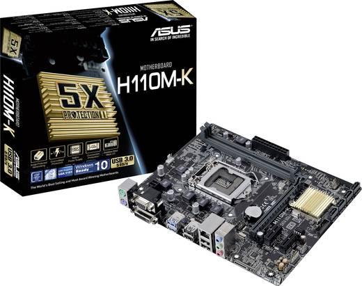 Mainboard Asus H110M-K Sockel Intel® 1151 Formfaktor Micro-ATX Mainboard-Chipsatz Intel® H110