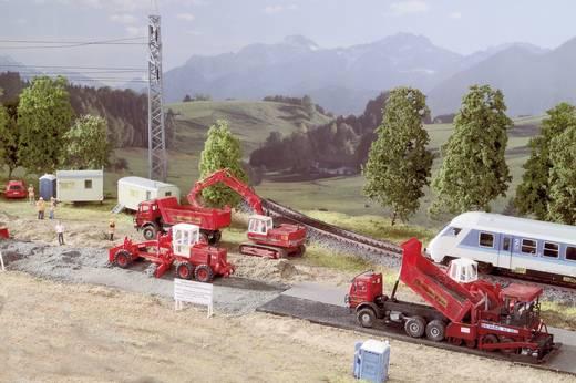 H0 BYGGSATS MOBILA TOALETTER 6 ST. H0 Mobiltoiletten Bausatz