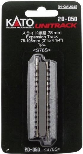 N Kato Unitrack 7078014 Vario-Gleis 78 mm, 108 mm