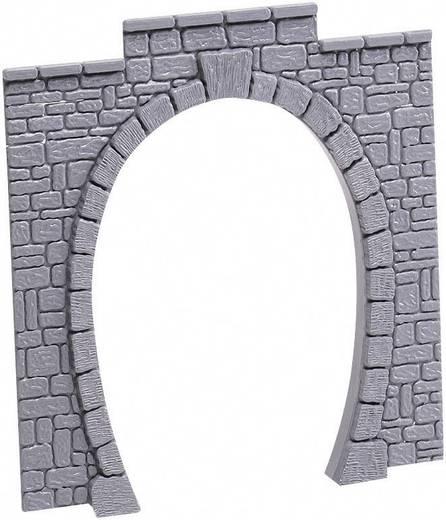 H0 Tunnel-Portal Entrée de tunnel 1 voie H0 (lot de 2) 1gleisig Kunststoffmodell 60010