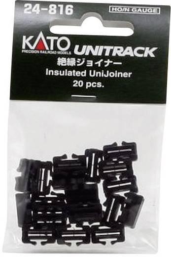 N Kato Unitrack 7078508 Schienenverbinder, isoliert