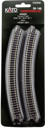 N Kato Unitrack 7078107 Gebogenes Gleis 30 ° 381 mm
