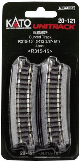 N Kato Unitrack 7078104 Gebogenes Gleis