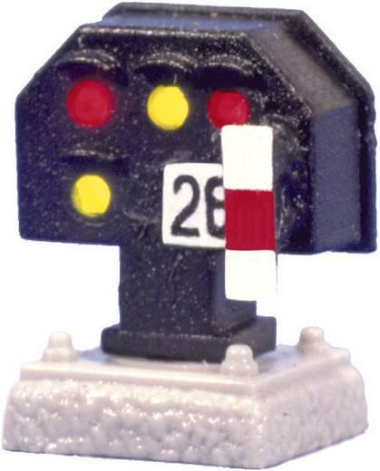 H0 Viessmann 4018A Lichtsignal Nieder Gleissperrsignal Bausatz DB