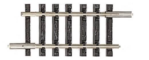 TT Tillig Gleis (ohne Bettung) 83104 Gerades Gleis 36.5 mm