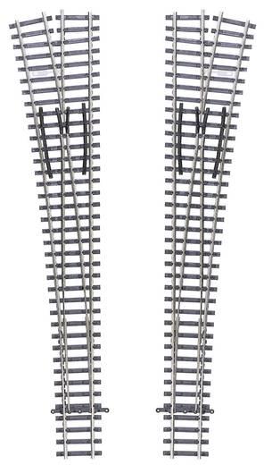 TT Tillig Gleis (ohne Bettung) 83341 Weiche, rechts 207 mm 12 ° 984 mm