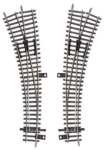 TT Tillig Gleis (ohne Bettung) 83361 Innenbogenweiche, rechts