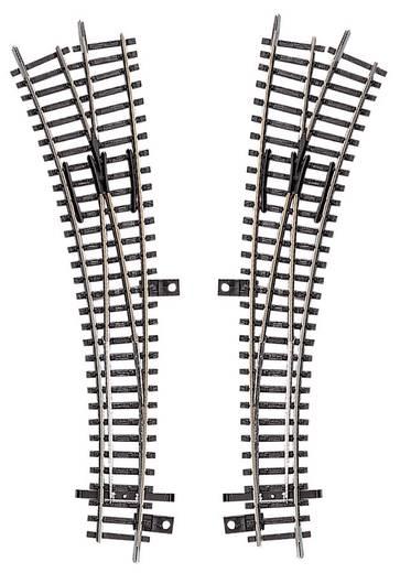 TT Tillig Gleis (ohne Bettung) 83410 Innenbogenweiche, links 30 ° 631 mm, 310 mm