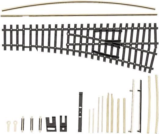 TT Tillig Gleis (ohne Bettung) 83431 Weiche, rechts 129.5 mm 15 ° 353 mm