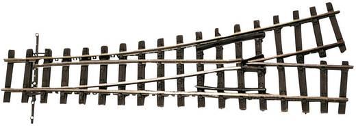H0m Tillig Schmalspur-Gleis 85640 Weiche, rechts, links 153.5 mm 18 ° 490 mm