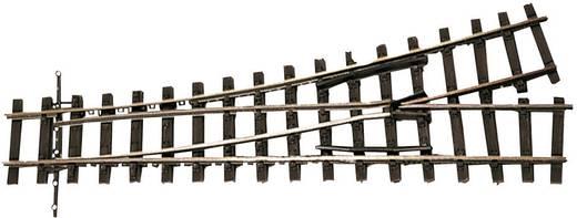 H0e Tillig Schmalspur-Gleis 85641 Weiche, rechts, links 128 mm 18 ° 490 mm