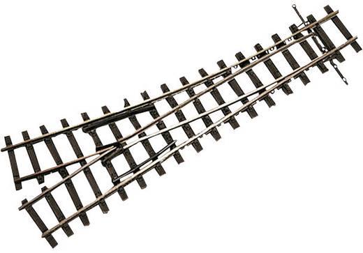 H0m Tillig Schmalspur-Gleis 85631 Weiche, rechts 153.5 mm 18 ° 490 mm