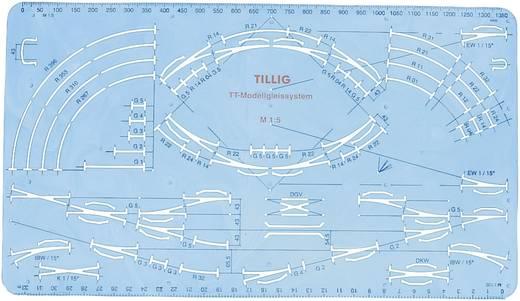 TT Tillig Gleis (ohne Bettung) 83517 Schablone