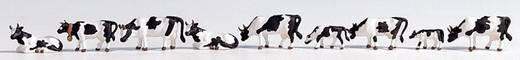 NOCH 15721 H0 Figuren Kühe schwarz/weiß