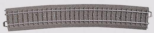 H0 Märklin C-Gleis (mit Bettung) 24912 Gebogenes Gleis