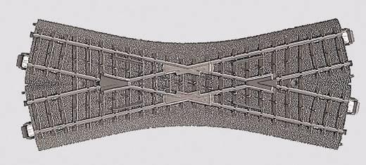 H0 Märklin C-Gleis (mit Bettung) 24640 Kreuzung 188.3 mm
