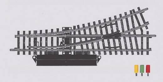 H0 Märklin K-Gleis (ohne Bettung) 2262 Weiche, links 168.9 mm