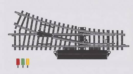 H0 Märklin K-Gleis (ohne Bettung) 2263 Weiche, rechts 168.9 mm 22.5 ° 424.6 mm