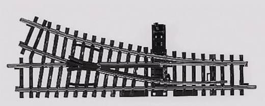 H0 Märklin K-Gleis (ohne Bettung) 2266 Weiche, rechts 168.9 mm 22.5 ° 424.6 mm