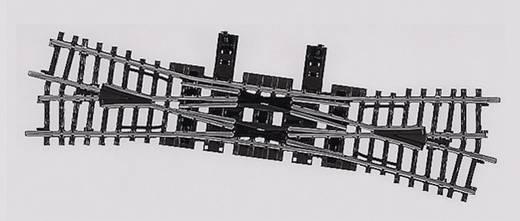 H0 Märklin K-Gleis (ohne Bettung) 2275 Kreuzungsweiche, doppelt 225 mm