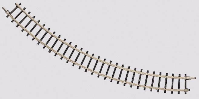 Märklin Z 8591 Gebogenes Gleis R490 mm 13°