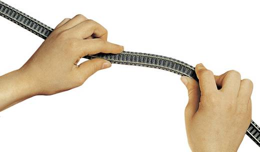 N Fleischmann piccolo (mit Bettung) 9106 Flexgleis 777 mm
