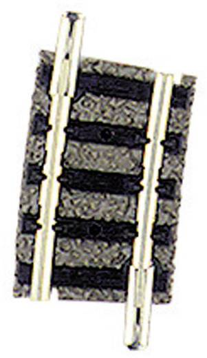 N Fleischmann piccolo (mit Bettung) 9123 Gebogenes Gleis 7.5 ° 192 mm