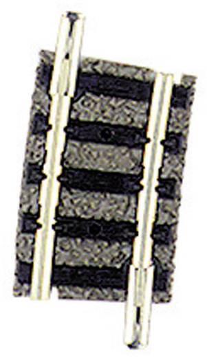 N Fleischmann piccolo (mit Bettung) 9123 Gebogenes Gleis