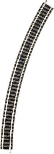 N Fleischmann piccolo (mit Bettung) 9130 Gebogenes Gleis 30 ° 396.4 mm
