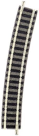 N Fleischmann piccolo (mit Bettung) 9131 Gebogenes Gleis 15 ° 396.4 mm