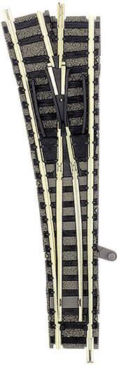 N Fleischmann piccolo (mit Bettung) 9170 Weiche, links 111 mm 15 ° 430 mm