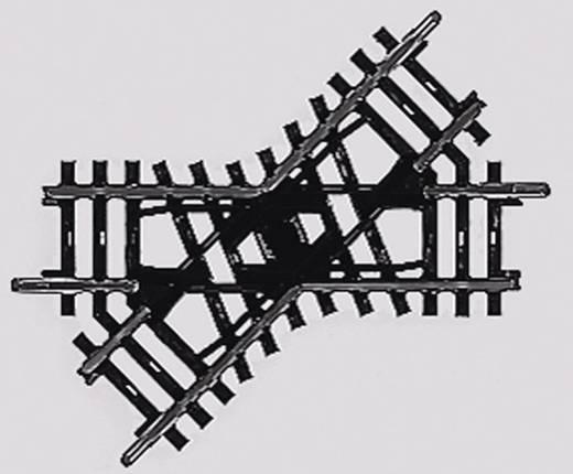 H0 Märklin K-Gleis (ohne Bettung) 2258 Kreuzung 90 mm 45 °