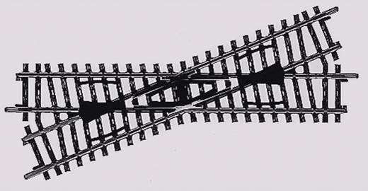 H0 Märklin K-Gleis (ohne Bettung) 2259 Kreuzung 168.9 mm 22.5 °