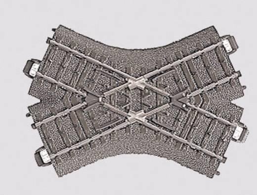 H0 Märklin C-Gleis (mit Bettung) 24649 Kreuzung 103.3 mm