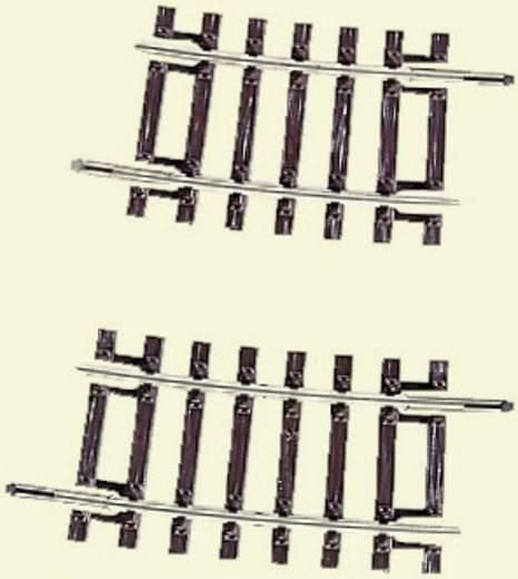 H0 RocoLine (ohne Bettung) 42408 Gebogenes Gleis 7.5 ° 358 mm