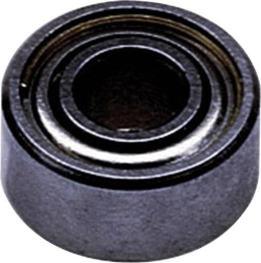 Reely Kugellager radial Edelstahl Innen-Durchmesser: 4 mm Außen-Durchmesser: 7 mm Drehzahl (max.): 65000 U/min