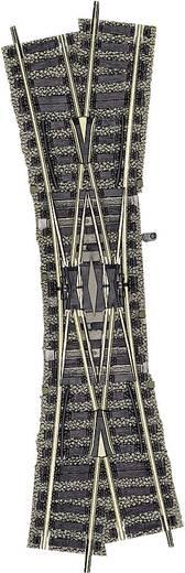 H0 Fleischmann Profi-Gleis 6165 Doppelkreuzungsweiche, rechts 200 mm 18 ° 647 mm