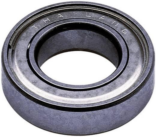 Reely Kugellager radial Edelstahl Innen-Durchmesser: 10 mm Außen-Durchmesser: 19 mm Drehzahl (max.): 41000 U/min