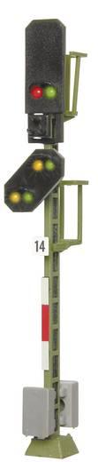 H0 Viessmann 4014 Lichtsignal mit Vorsignal Blocksignal Fertigmodell DB