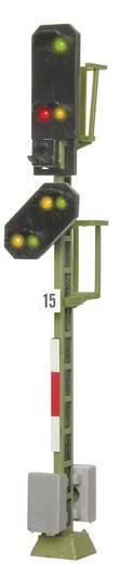H0 Viessmann 4015 Lichtsignal mit Vorsignal Einfahrsignal Fertigmodell DB