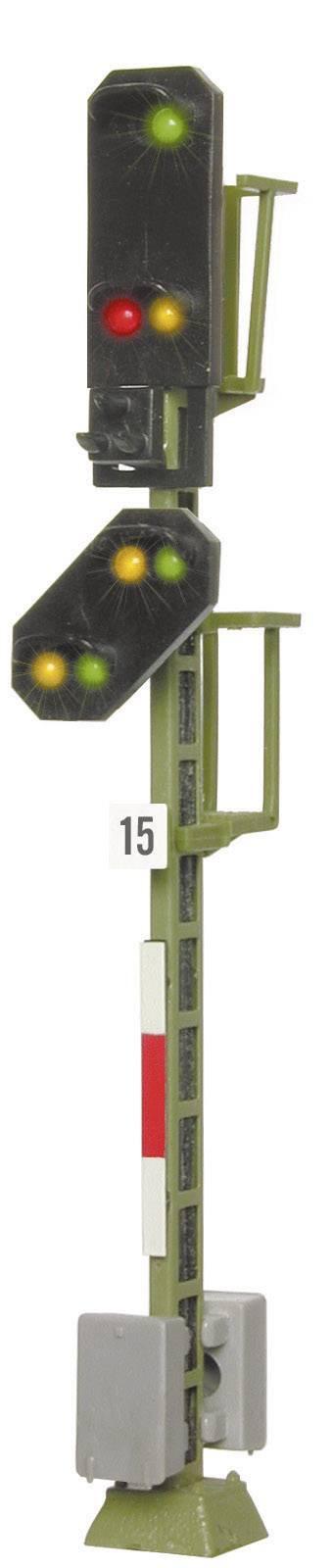 Kit //// piste h0 Vorsignal avec 4 LED