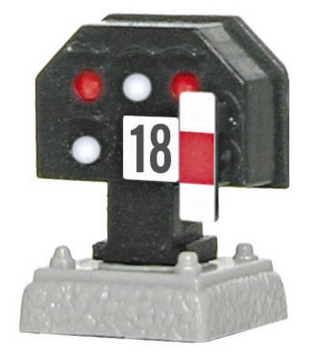 H0 Viessmann 4018 Lichtsignal Nieder Gleissperrsignal Fertigmodell DB