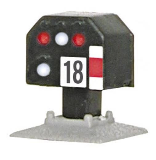 N Viessmann 4418 Lichtsignal Nieder Gleissperrsignal Fertigmodell DB