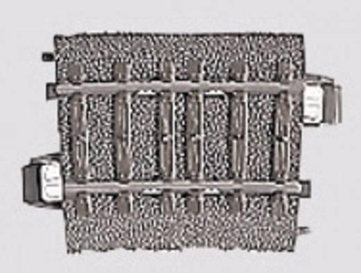 H0 Märklin C-Gleis (mit Bettung) 24206 Gebogenes Gleis