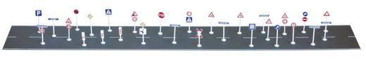 H0 Set Verkehrszeichen, Straßennamen, Hausnummern Busch 6028 Bausatz