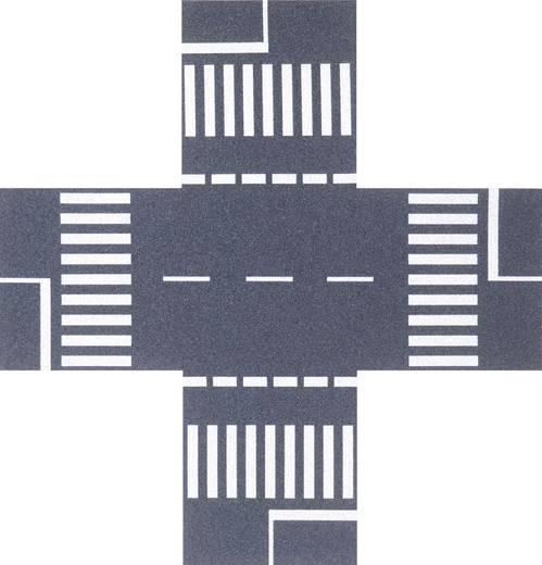 H0 Straßenkreuzung Busch 7074