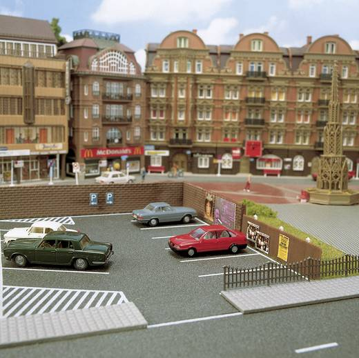 N Parkplatz (L x B) 120 mm x 100 mm Busch 7077